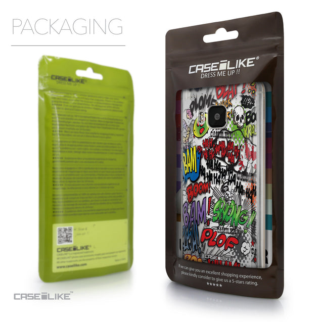 Packaging - CASEiLIKE HTC One M9 back cover Comic Captions 2914
