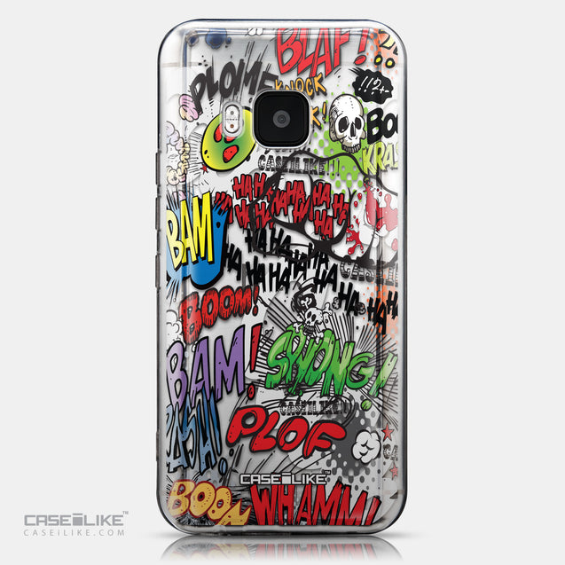 CASEiLIKE HTC One M9 back cover Comic Captions 2914