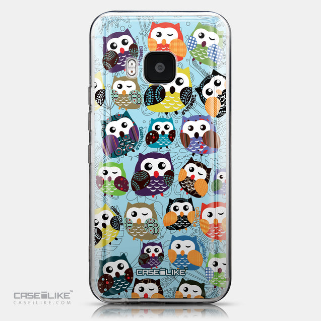 CASEiLIKE HTC One M9 back cover Owl Graphic Design 3312