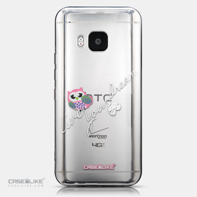CASEiLIKE HTC One M9 back cover Owl Graphic Design 3314