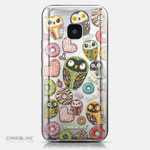 CASEiLIKE HTC One M9 back cover Owl Graphic Design 3315