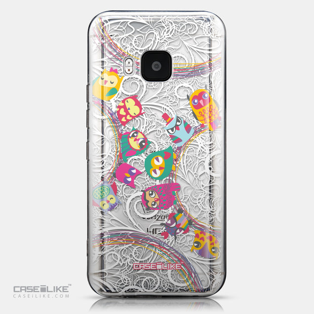 CASEiLIKE HTC One M9 back cover Owl Graphic Design 3316