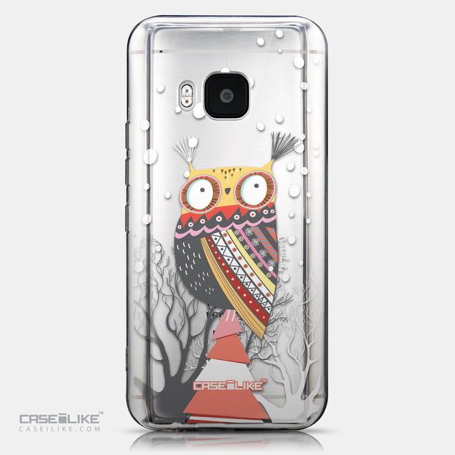 CASEiLIKE HTC One M9 back cover Owl Graphic Design 3317