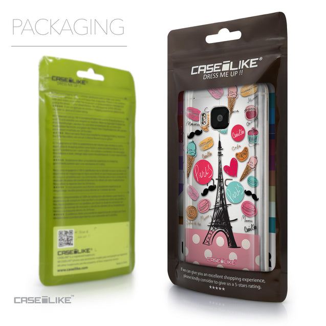 Packaging - CASEiLIKE HTC One M9 back cover Paris Holiday 3904