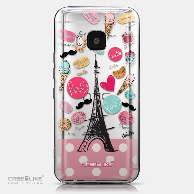 CASEiLIKE HTC One M9 back cover Paris Holiday 3904