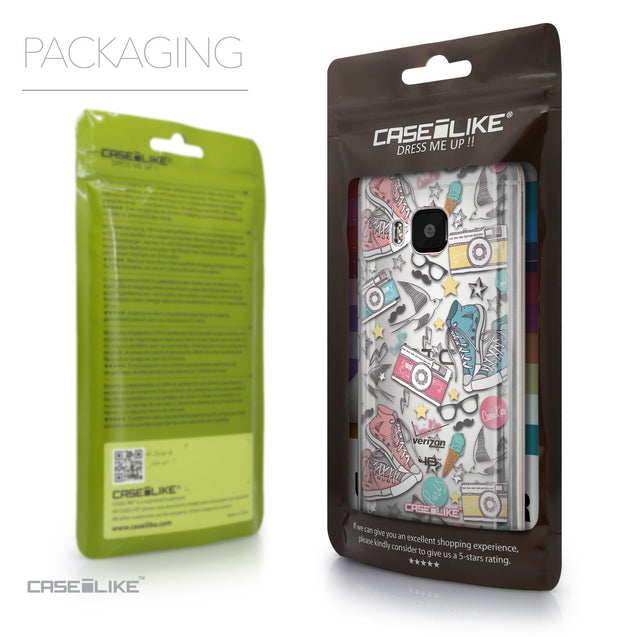 Packaging - CASEiLIKE HTC One M9 back cover Paris Holiday 3906