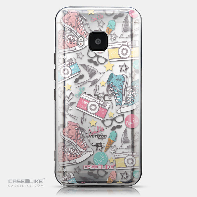 CASEiLIKE HTC One M9 back cover Paris Holiday 3906