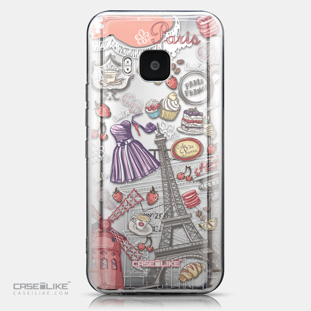 CASEiLIKE HTC One M9 back cover Paris Holiday 3907