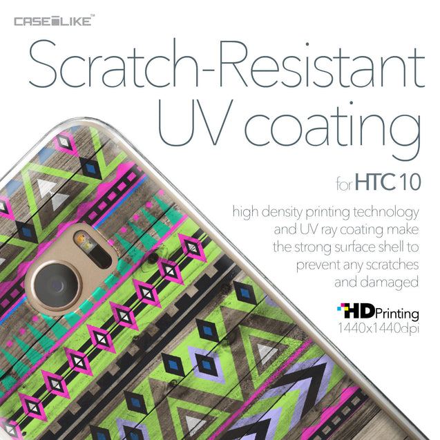 HTC 10 case Indian Tribal Theme Pattern 2049 with UV-Coating Scratch-Resistant Case | CASEiLIKE.com