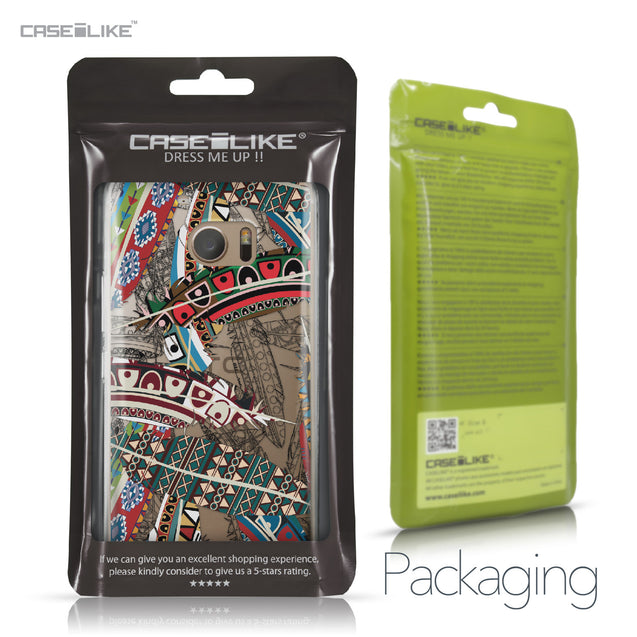 HTC 10 case Indian Tribal Theme Pattern 2055 Retail Packaging | CASEiLIKE.com