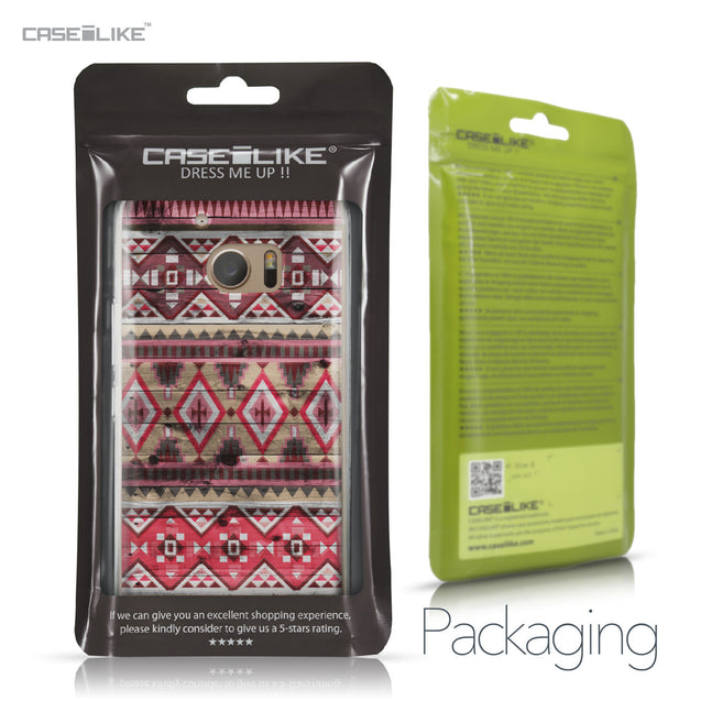 HTC 10 case Indian Tribal Theme Pattern 2057 Retail Packaging | CASEiLIKE.com