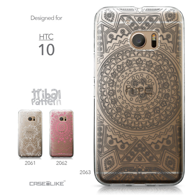 HTC 10 case Indian Line Art 2063 Collection | CASEiLIKE.com