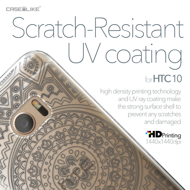 HTC 10 case Indian Line Art 2063 with UV-Coating Scratch-Resistant Case | CASEiLIKE.com