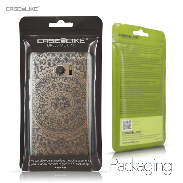 HTC 10 case Indian Line Art 2063 Retail Packaging | CASEiLIKE.com