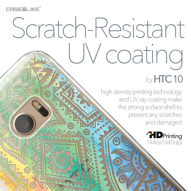 HTC 10 case Indian Line Art 2064 with UV-Coating Scratch-Resistant Case | CASEiLIKE.com