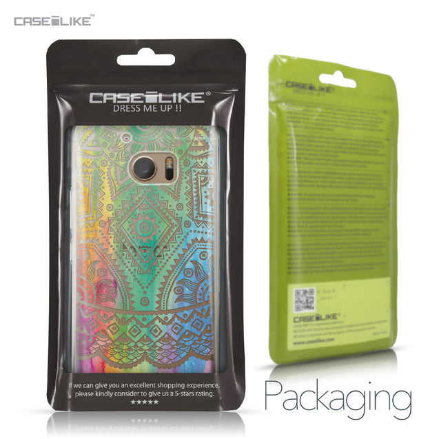 HTC 10 case Indian Line Art 2064 Retail Packaging | CASEiLIKE.com