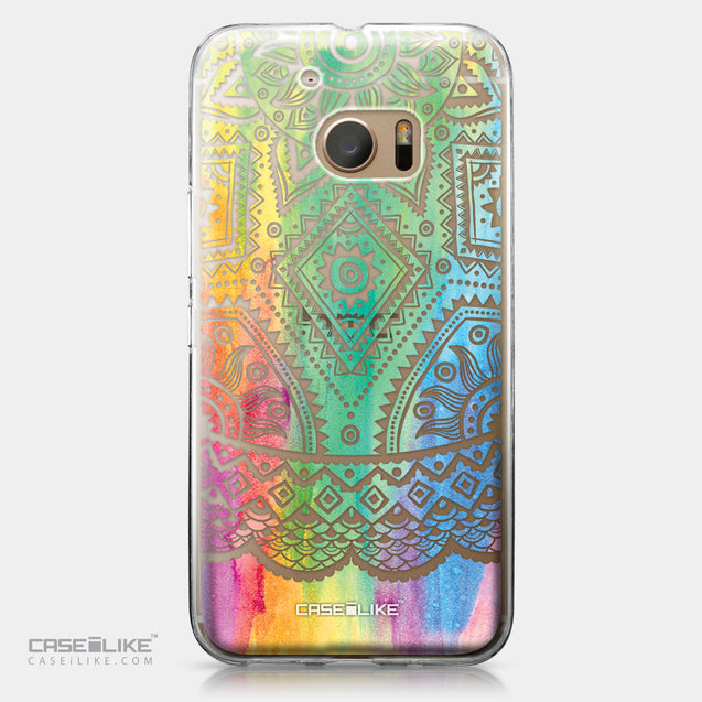 HTC 10 case Indian Line Art 2064 | CASEiLIKE.com
