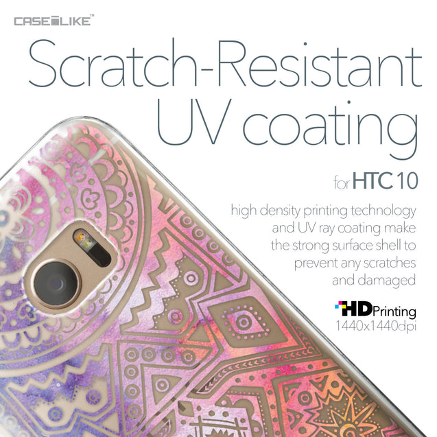 HTC 10 case Indian Line Art 2065 with UV-Coating Scratch-Resistant Case | CASEiLIKE.com