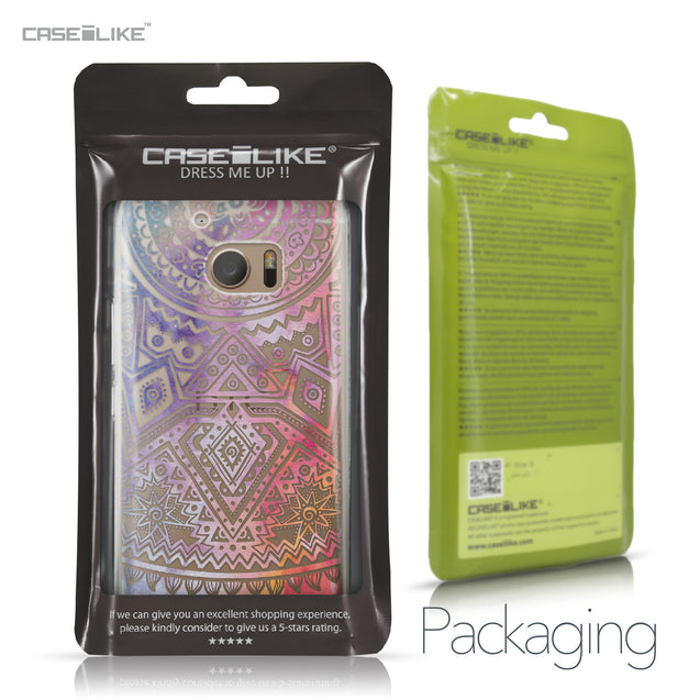 HTC 10 case Indian Line Art 2065 Retail Packaging | CASEiLIKE.com