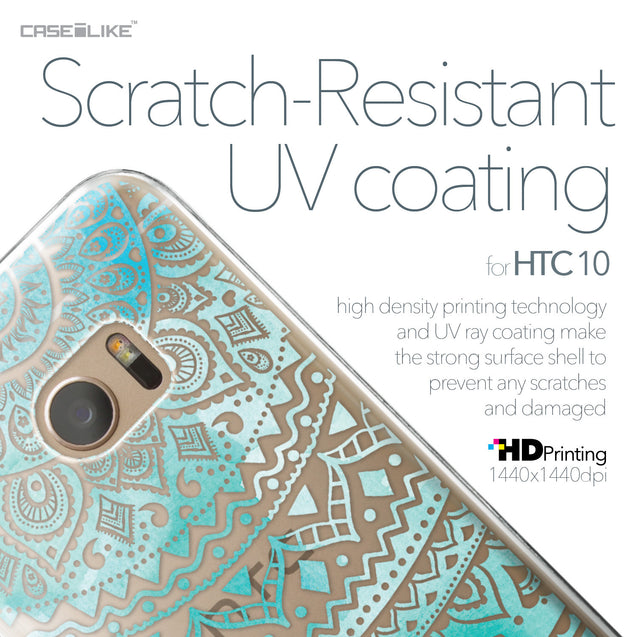 HTC 10 case Indian Line Art 2066 with UV-Coating Scratch-Resistant Case | CASEiLIKE.com