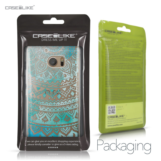 HTC 10 case Indian Line Art 2066 Retail Packaging | CASEiLIKE.com