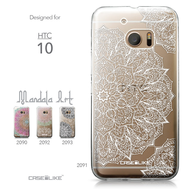 HTC 10 case Mandala Art 2091 Collection | CASEiLIKE.com