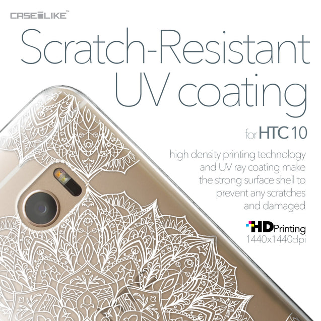 HTC 10 case Mandala Art 2091 with UV-Coating Scratch-Resistant Case | CASEiLIKE.com