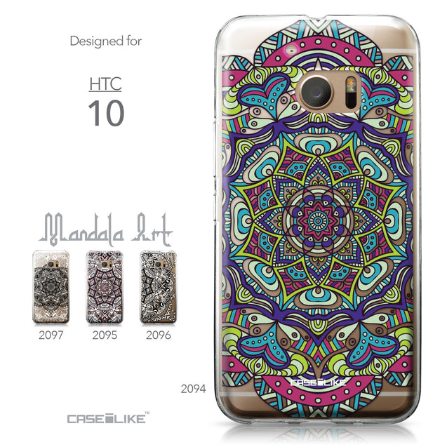 HTC 10 case Mandala Art 2094 Collection | CASEiLIKE.com