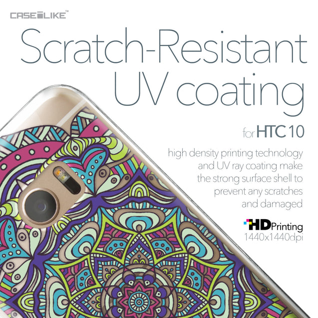 HTC 10 case Mandala Art 2094 with UV-Coating Scratch-Resistant Case | CASEiLIKE.com