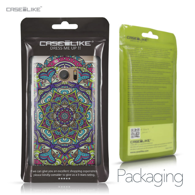 HTC 10 case Mandala Art 2094 Retail Packaging | CASEiLIKE.com