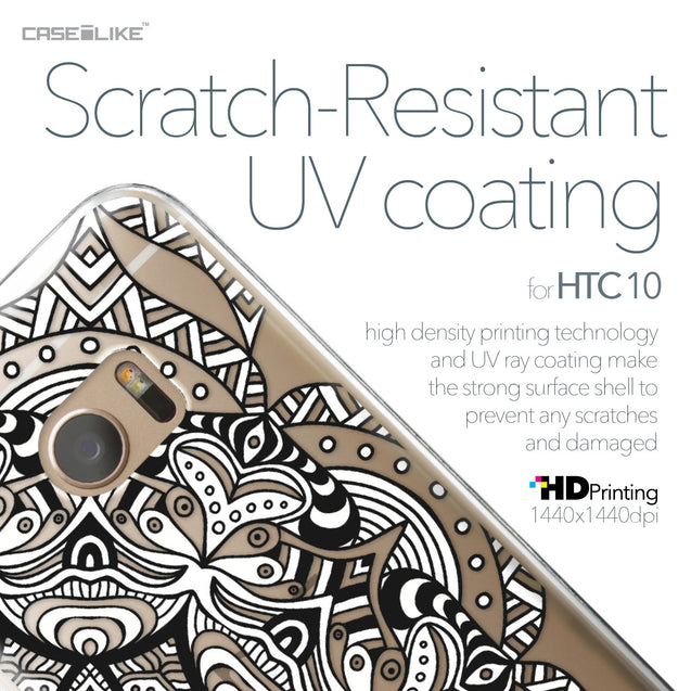 HTC 10 case Mandala Art 2096 with UV-Coating Scratch-Resistant Case | CASEiLIKE.com