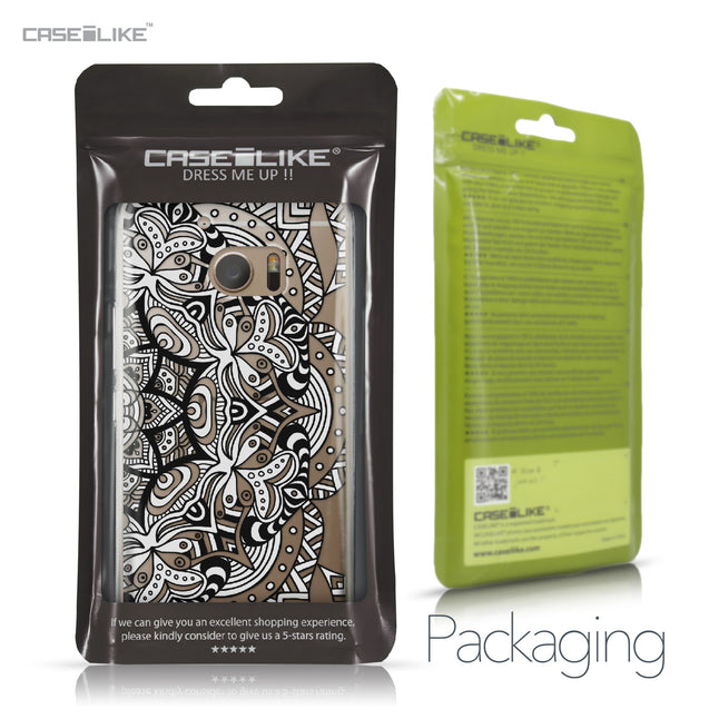 HTC 10 case Mandala Art 2096 Retail Packaging | CASEiLIKE.com