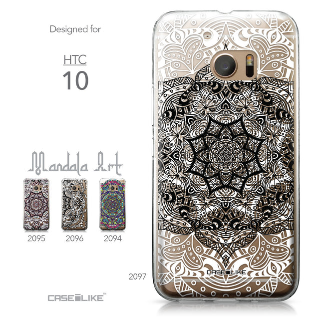 HTC 10 case Mandala Art 2097 Collection | CASEiLIKE.com