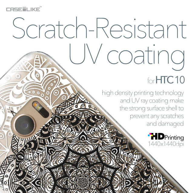 HTC 10 case Mandala Art 2097 with UV-Coating Scratch-Resistant Case | CASEiLIKE.com