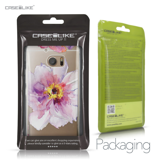HTC 10 case Watercolor Floral 2231 Retail Packaging | CASEiLIKE.com