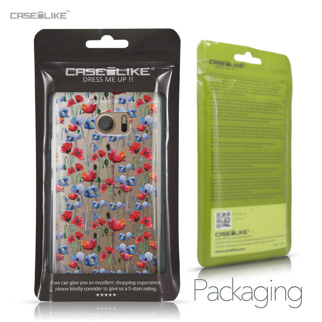 HTC 10 case Watercolor Floral 2233 Retail Packaging | CASEiLIKE.com