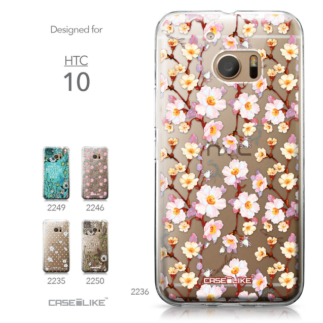 HTC 10 case Watercolor Floral 2236 Collection | CASEiLIKE.com