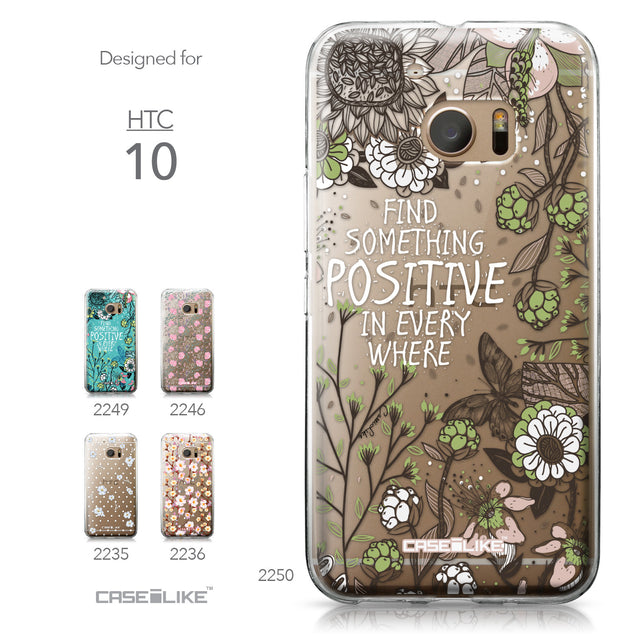 HTC 10 case Blooming Flowers 2250 Collection | CASEiLIKE.com