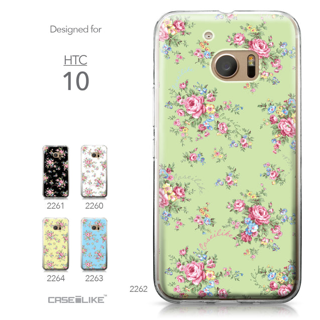 HTC 10 case Floral Rose Classic 2262 Collection | CASEiLIKE.com