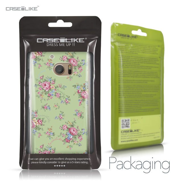 HTC 10 case Floral Rose Classic 2262 Retail Packaging | CASEiLIKE.com
