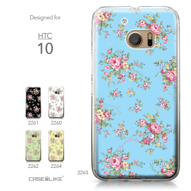 HTC 10 case Floral Rose Classic 2263 Collection | CASEiLIKE.com