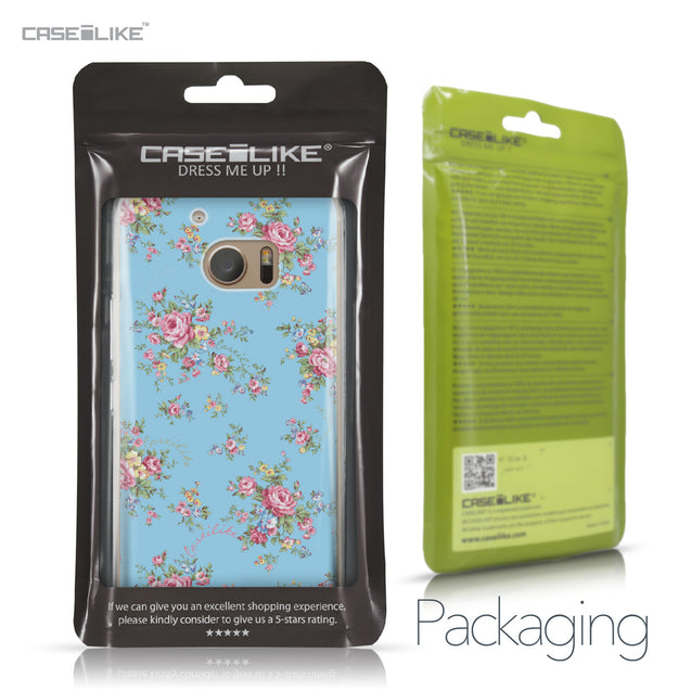 HTC 10 case Floral Rose Classic 2263 Retail Packaging | CASEiLIKE.com