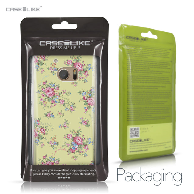 HTC 10 case Floral Rose Classic 2264 Retail Packaging | CASEiLIKE.com