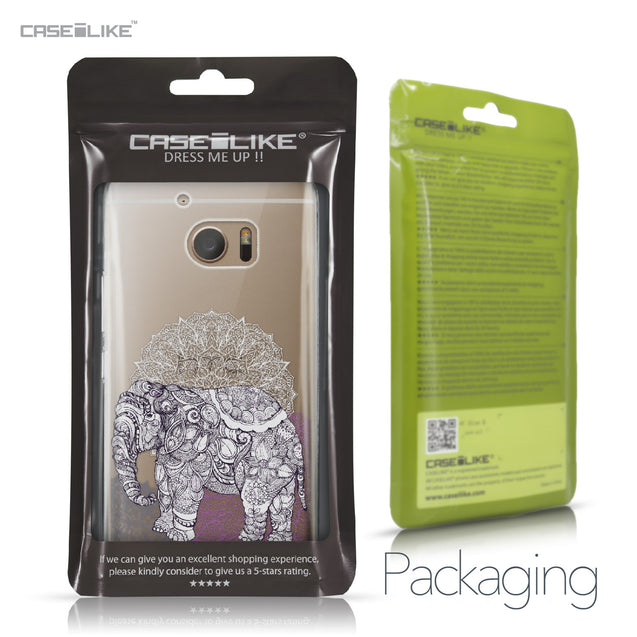 HTC 10 case Mandala Art 2301 Retail Packaging | CASEiLIKE.com
