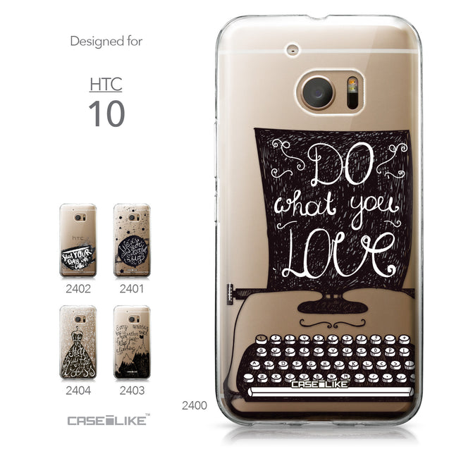 HTC 10 case Quote 2400 Collection | CASEiLIKE.com