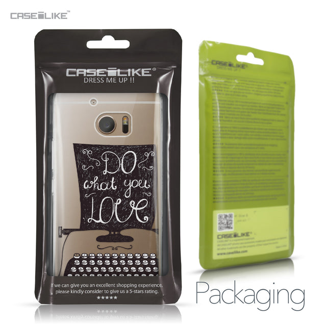 HTC 10 case Quote 2400 Retail Packaging | CASEiLIKE.com