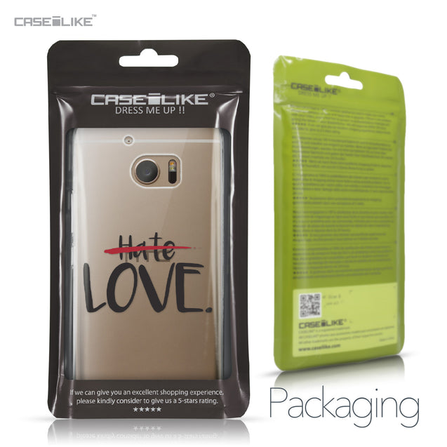 HTC 10 case Quote 2406 Retail Packaging | CASEiLIKE.com