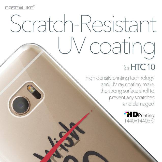 HTC 10 case Quote 2407 with UV-Coating Scratch-Resistant Case | CASEiLIKE.com