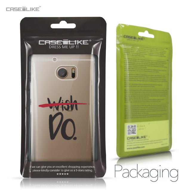 HTC 10 case Quote 2407 Retail Packaging | CASEiLIKE.com