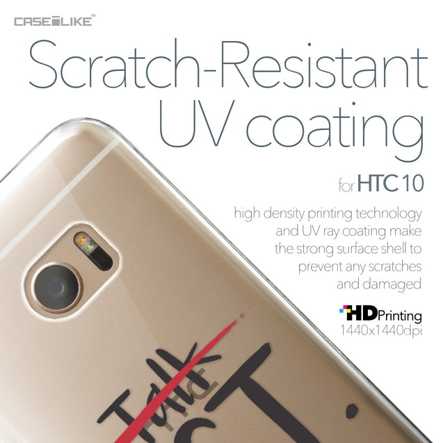 HTC 10 case Quote 2408 with UV-Coating Scratch-Resistant Case | CASEiLIKE.com